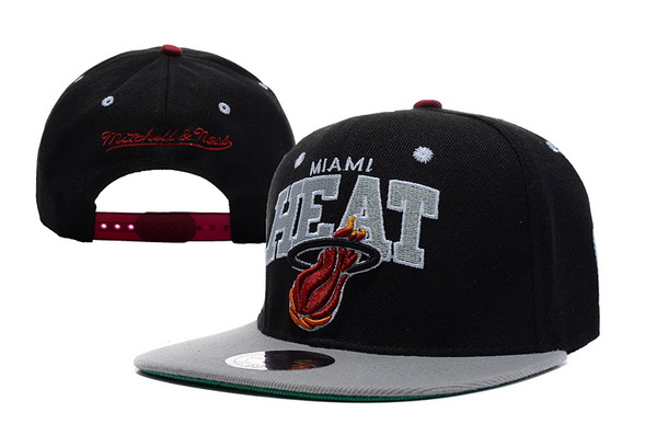 Miami Heat NBA Snapback Hat XDF353